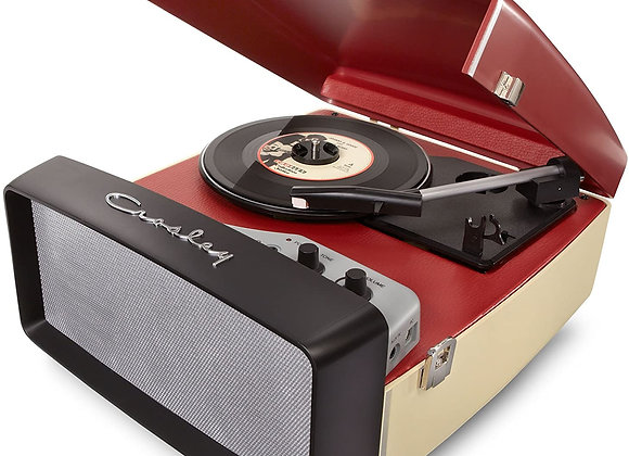 Crosley CR6010A-RE Collegiate Portable USB Turntable