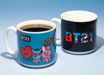 BTS BT21 Color Changing Mug