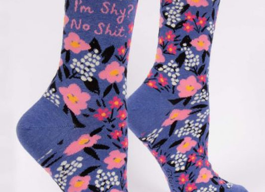 Womens I'm Shy Socks