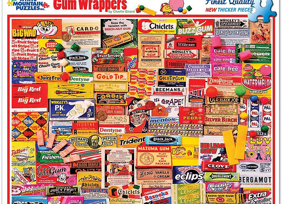 Gum Wrappers - 1000Piece Jigsaw Puzzle