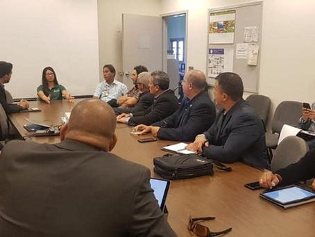 Reunión con la Directora del Programa de Cáñamo del Departamento de Agricultura en Hawaii