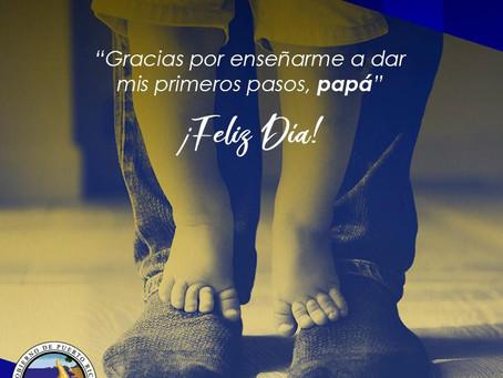 ¡Feliz Día de los Padres!