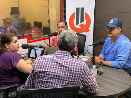 El Secretario de Agricultura, Carlos Flores Ortega, conversó con Radio 11Q 1140 AM