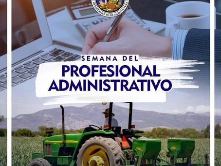 Felicidades a los Profesionales Administrativo por su esfuerzo y dedicación día a día