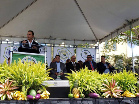 Inaguración de la Súper Región Agrícola de Caguas