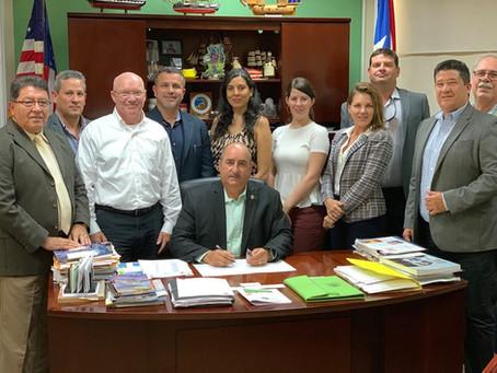 Acuerdo colaborativo con el Servicio Forestal del Departamento de Agricultura de los Estados Unidos