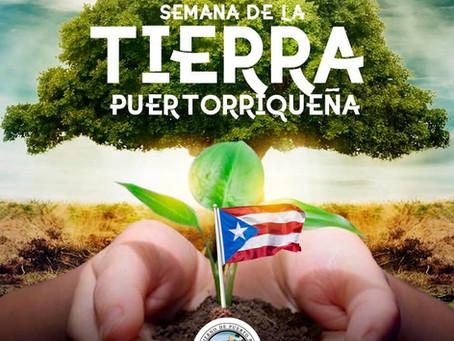El Departamento de Agricultura y su secretario, Carlos Flores, les desea feliz semana de la Tierra