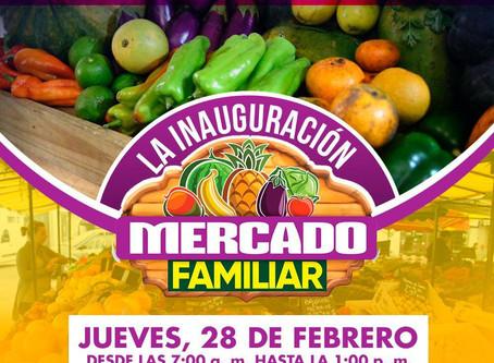 Inaguración de Mercado Familiar en Región de Bayamón