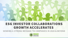ESG Investor Collaborations Growth Accelerates, A Strong Message to Companies in 2020 and Beyond