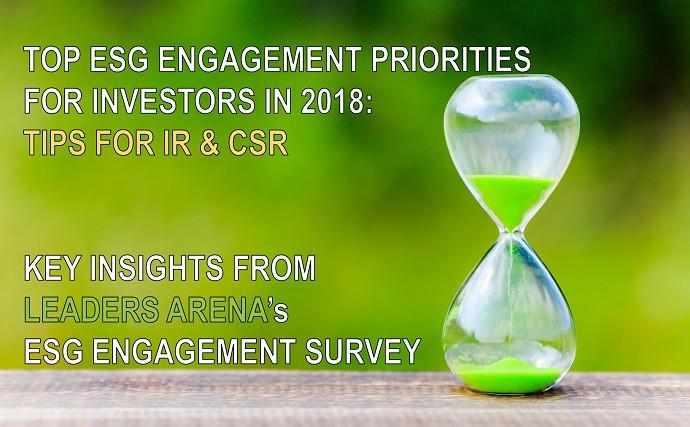 ESG investor survey