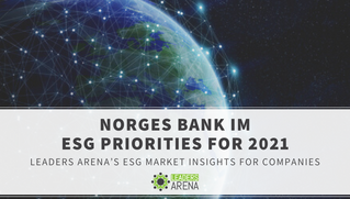Norges Bank Investment Management ESG Initiatives in 2020 & Priorities for 2021