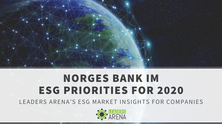 Norges Bank Investment Management ESG Initiatives in 2019 & Priorities for 2020