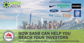 How SASB Can Help You Reach Your Investors