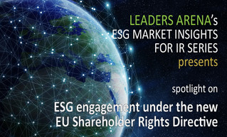ESG engagement under the new EU Shareholder Rights Directive