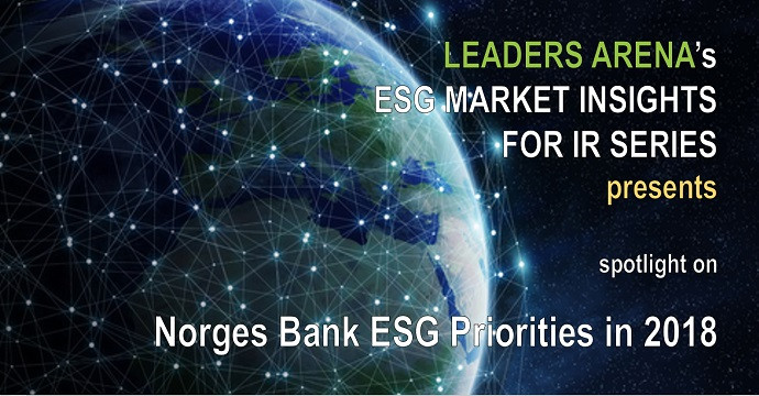 Norges Bank ESG 2018 priorities for investor relations