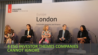 RI Europe 2019 - 4 ESG investor themes companies cannot ignore
