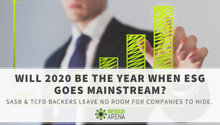 Will 2020 be the year when ESG goes mainstream?