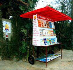 Inauguração da biblioteca ambulante