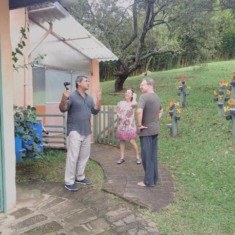 A matéria será exibida no programa É de Casa, da TV Globo!