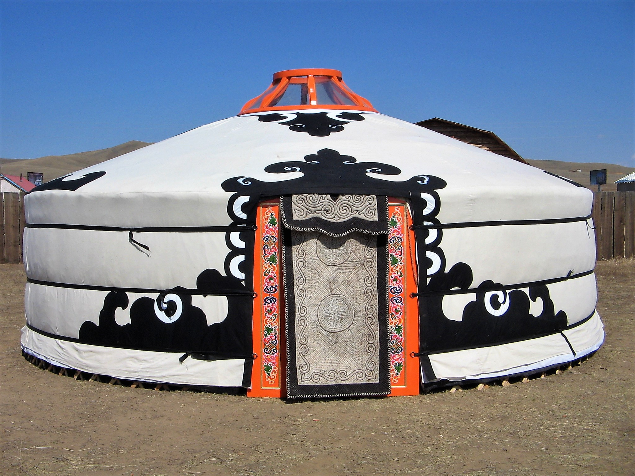 Mongolian Ger with Canvas