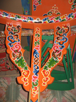 Mongolian Ger Pole