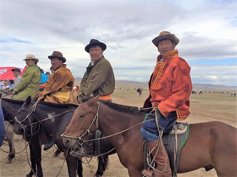men on horses