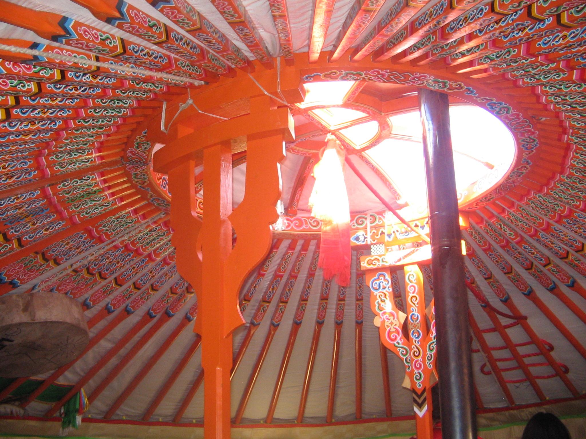 Mongolian Ger Inside