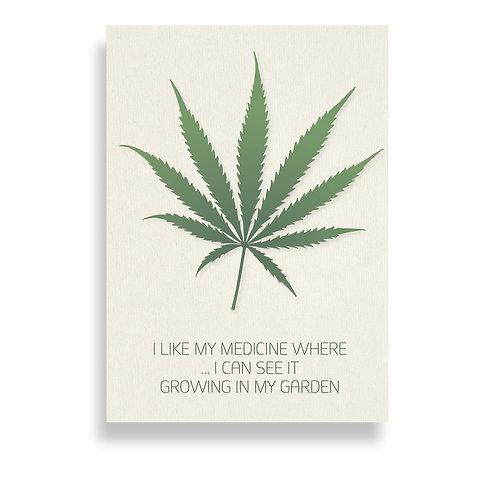 I like my medicine ...