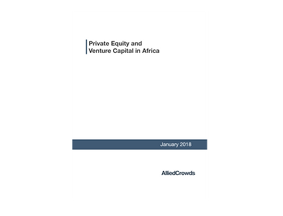 Private Equity and Venture Capital in Af