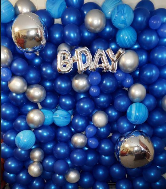 Balloon Wall for 15th Birthday