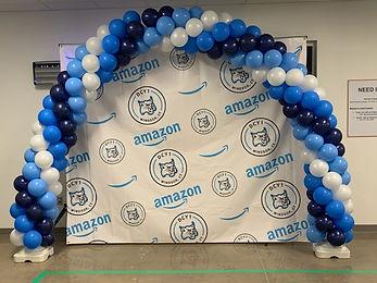 2nd Amazon Balloon Arch
