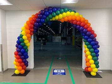 1st Amazon Balloon Arch