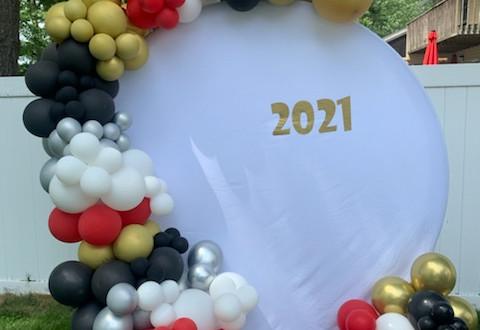 2021 Graduation Garland