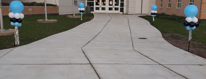 MLC's 2021 Teacher Appreciation Day Yard poles