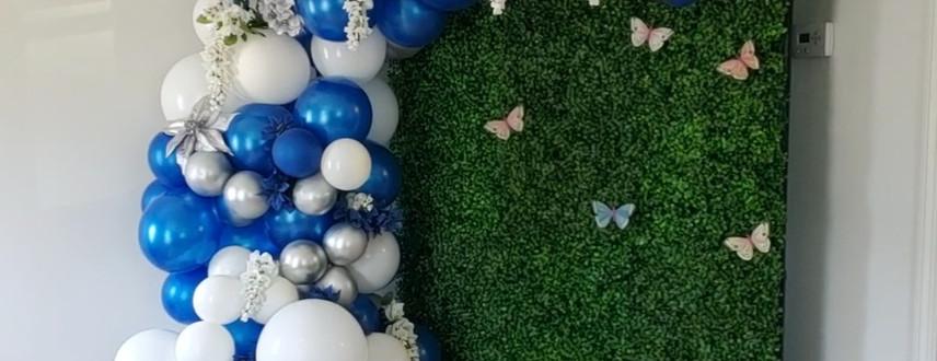 Butterfly Wedding Garland