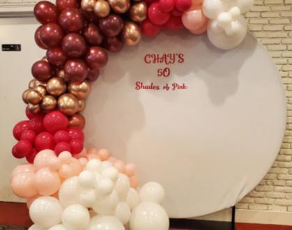 Chay's 50 Shades of Pink Garland