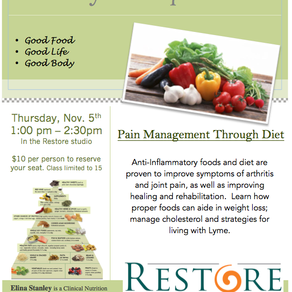 Pain Management Through Diet