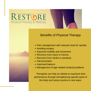 Benefits of physical therapy.