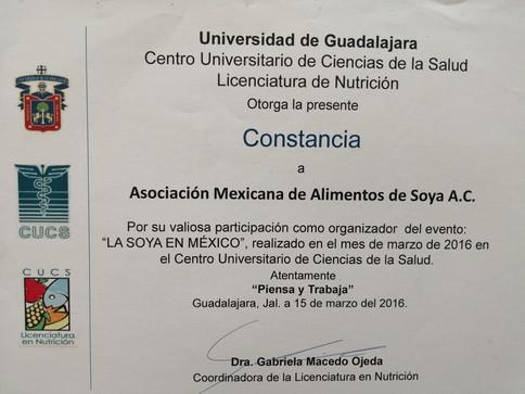 Seminario la Soya en México