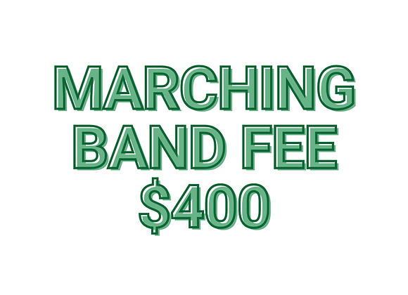 Marching Band Fee