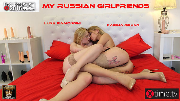 My Russian Girl Friend - Luna Ramondini Vs Karina Grand