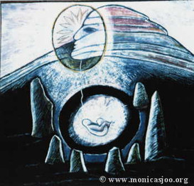 046 - Dartmoor Tor Goddess 1988