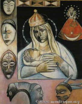 018 - Black Madonna Of Malta 1999
