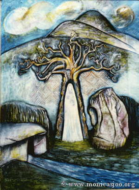021 - Bride-Bridget & Her Well, Tree & Stone 1988