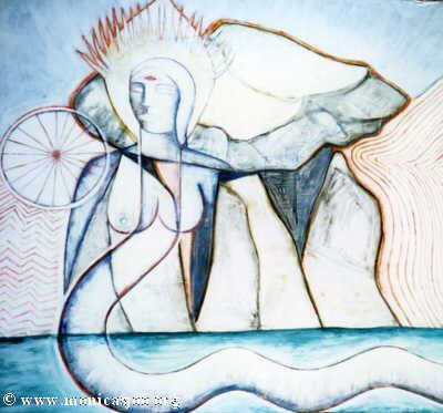 041 - Cromlech Goddess
