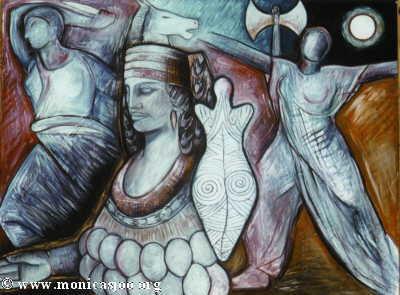 049 - Diana Artemis Queen Of The Amazons 1997