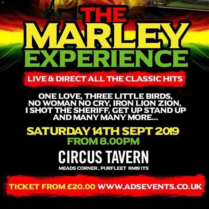 The Marley Experience Tribute Night