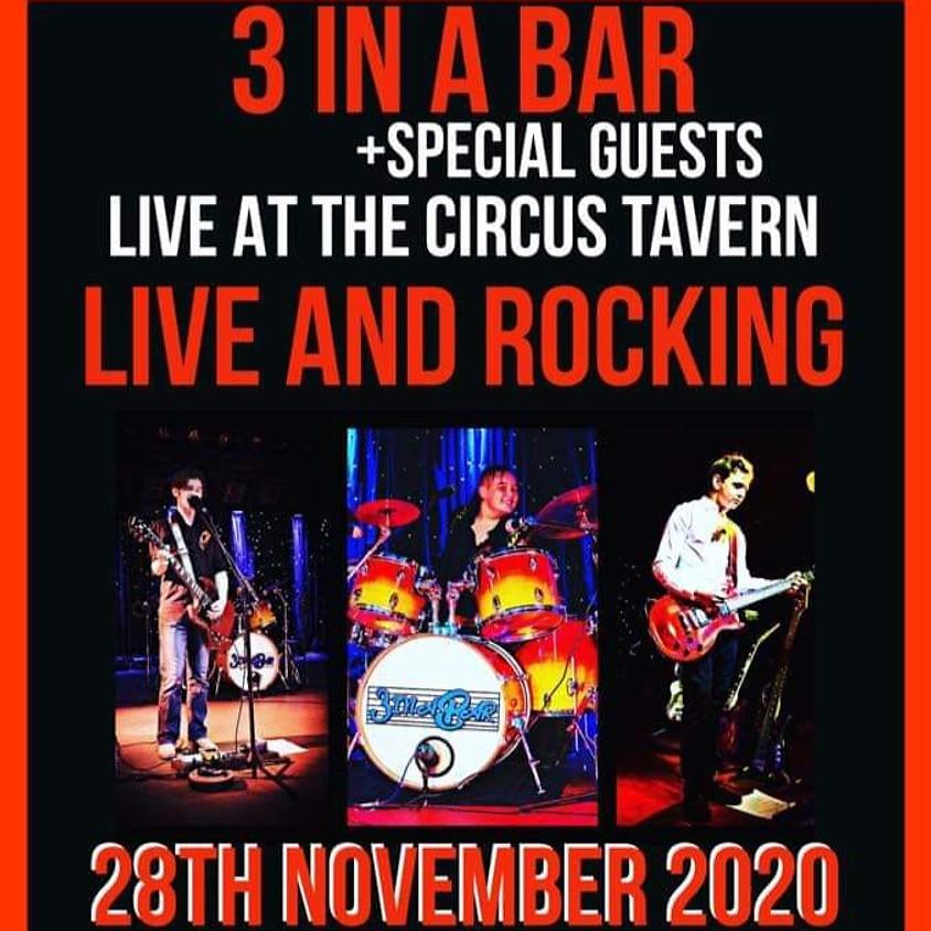 3 In A Bar - Live & Rocking