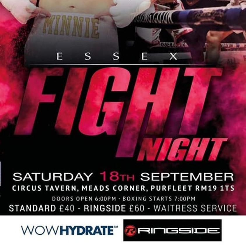 Essex Fight Night's Professional Boxing