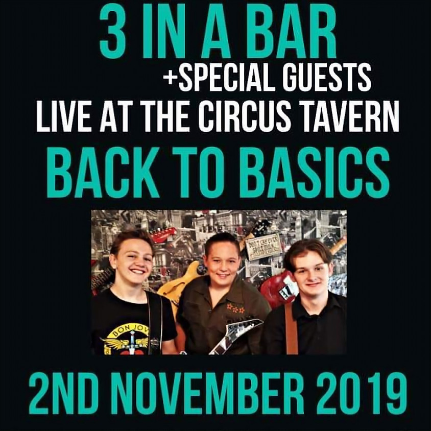 3 in a Bar Rock & Roll Band